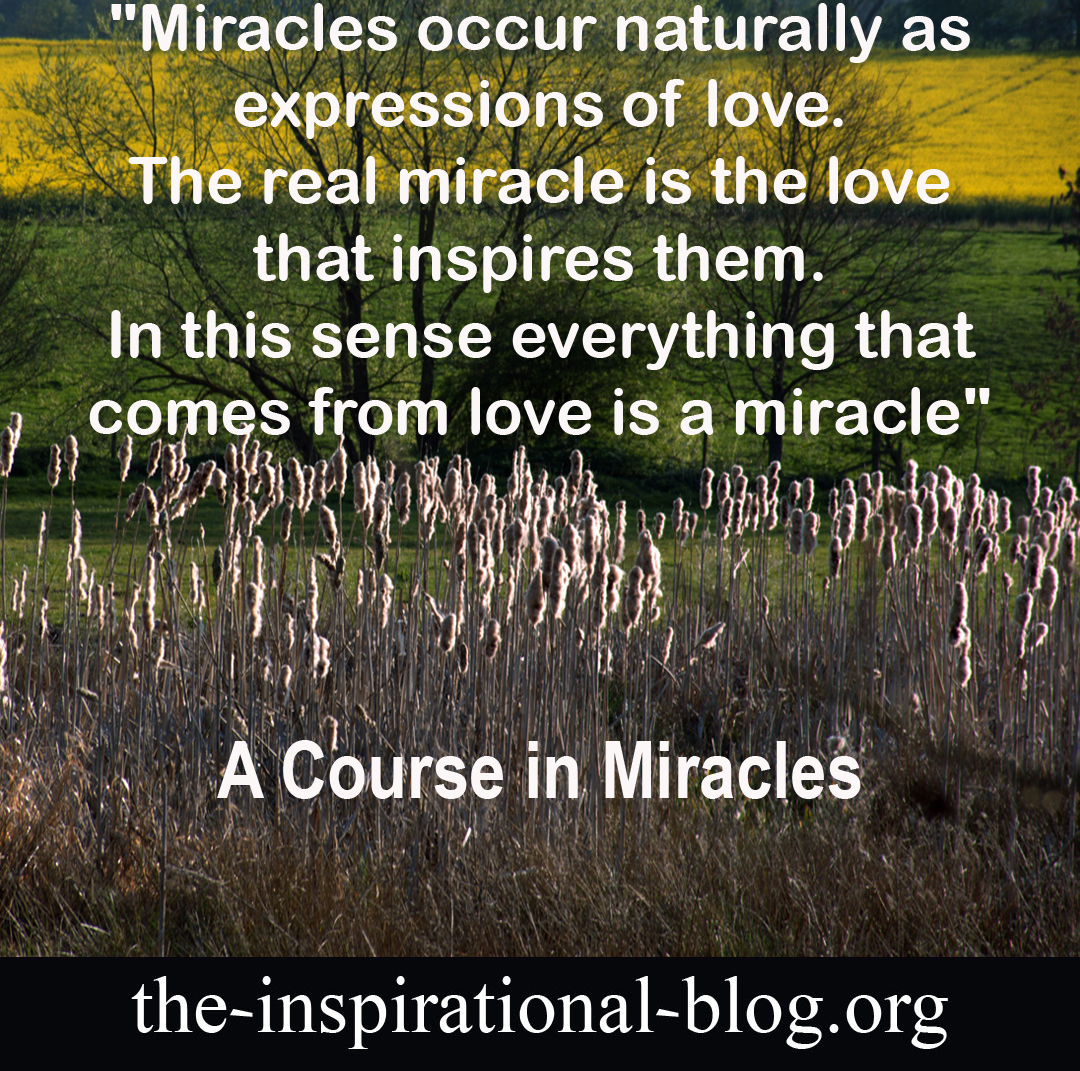 Inspirational A Course in Miracles quotes