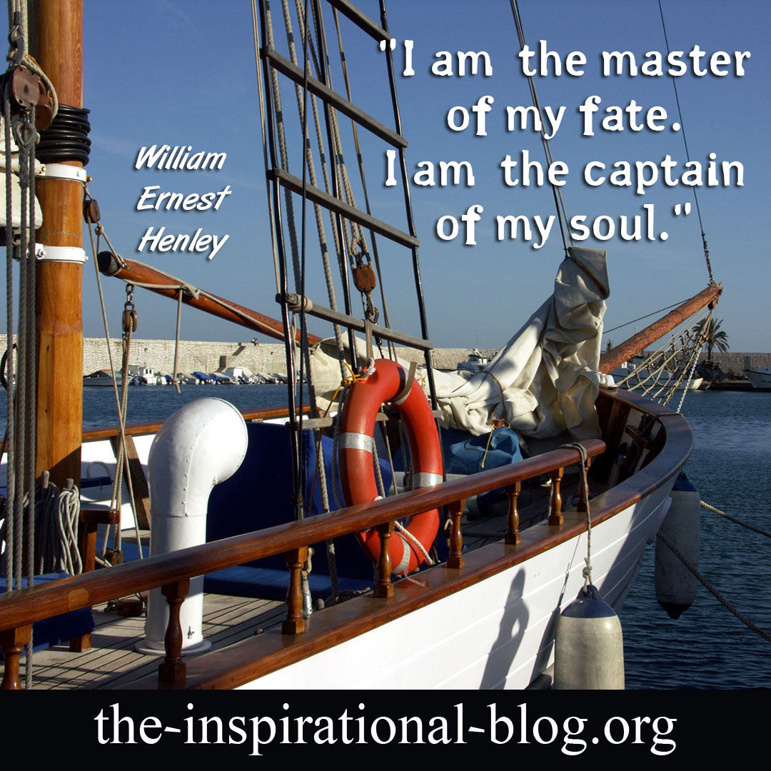 Inspirational William Ernest Henley quotes