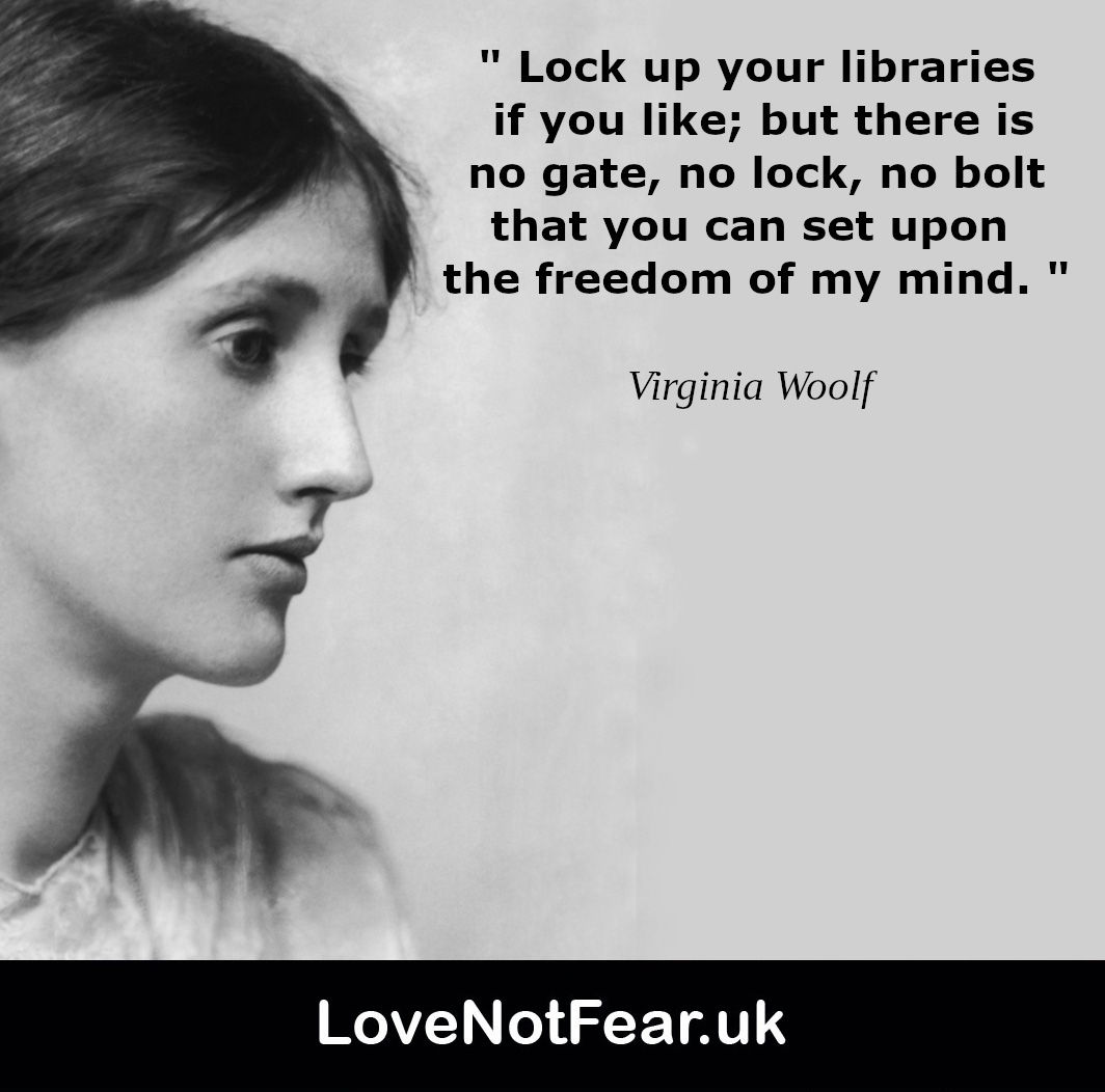 Inspirational Virginia Woolf quotes